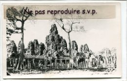 -  Ankorthom - Petit Format, Glacée, En 1956,  écrite, Poste Aux Armées T. O. E., BE, Scans. - Cambodge