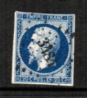 FRANCE    Scott  # 15a  F-VF USED - 1853-1860 Napoleon III