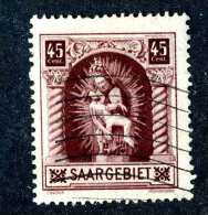 4130e  Saar  Michel #102   Used ~  ( Cat.€6.50 )  Offers Welcome! - 1920-35 Saargebiet – Abstimmungsgebiet