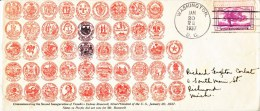 U.S. INAUGURATION  COVER  F.D. ROOSEVELT  1937 - United States