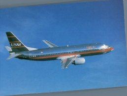 (776) Aircraft - Avion - USAir - B 737-400 - 1946-....: Moderne