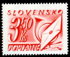 SLOVAKIA - 1942 - Mi 36 POSTAGE DUE - 3.50Ks - MNH ** - Unused Stamps