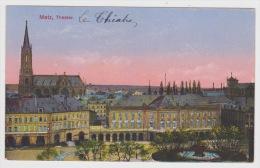 (RECTO / VERSO) METZ EN 1918 - LE THEATRE - Metz