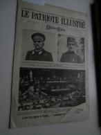 Le Patriote Illustré 28/08/1921: Le Roeulx, Blois, Loncin, Marchienne, RC Gent, - Libri, Riviste, Fumetti