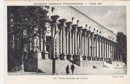 Cp , 75 , PARIS , Exposition Coloniale Internationale , 1931 , Palais Principal De L'Italie - Expositions