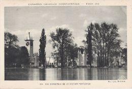 Cp , 75 , PARIS , Exposition Coloniale Internationale, 1931, Vue D'ensemble De La Section Portugaise - Expositions