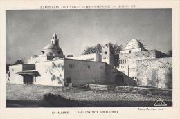Cp , 75 , PARIS , Exposition Coloniale Internationale, 1931, Algérie , Pavillon Côté Sud-Algérien - Expositions