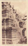 Cp , 75 , PARIS , Exposition Coloniale Internationale, 1931, Temple D'Angkor-Vat , Escalier Latéral - Expositions