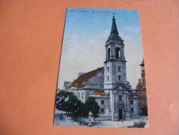 Cpa Thorn Allstadt Evangelische Kirche - Westpreussen