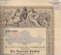 Bon Du Trésor Autrichien 1868 - A - C