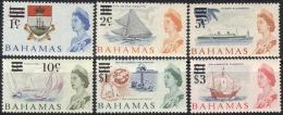 BAHAMAS  - SHIPS - SAILING  -  1966 -  **MNH - Barche