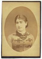 Grande  Photo Cartonnée  10.5cm X 15 Cm  Alphonse   Leenaerts    Toulon - Ancianas (antes De 1900)