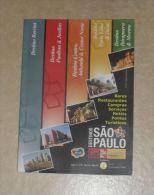Guide Touristique Bares Restaurants Etc SAO PAULO Brésil - Livres, BD, Revues