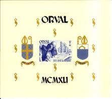 Bloc 12 ** MNH Orval Moines Monniken - Bloc Non Dentelé - Blocchi 1924 – 1960