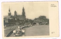 I1081 Germania Deutschland Germany - Dresden - Barche Boats Bateaux / Non Viaggiata - Dresden