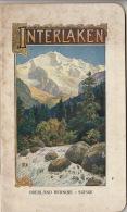 Suisse Belle Brochure Interlaken Et Environs Oberland Bernois - Tourismus