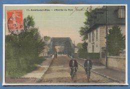 95 - AUVERS Sur OISE --  L'Entée Du Pont - Auvers Sur Oise