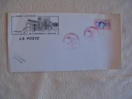 CACHET CENTENAIRE DE L'ASCENCEUR A BATEAUX ....ARQUES 2-3- JUILLET 1988 - Bateaux