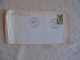 Enveloppe Avec Cachet Club Philatelique Ibm... - Marcophilie (Lettres)