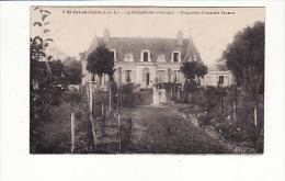 Carte 1920 SAINT CYR SUR LOIRE / LA BECHELLERIE / Propriété D'Anatole France : Côté Sud - Saint-Cyr-sur-Loire