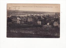 Carte 1920 SAINT CYR  SUR LOIRE / PANORAMA / LES MAISONS BLANCHES - Saint-Cyr-sur-Loire
