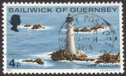 Guernsey, 4 P. 1976, Sc # 131, Mi # 129, Used - Guernsey