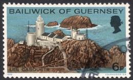 Guernsey, 6 P. 1976, Sc # 132, Mi # 130, Used - Guernsey