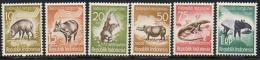 Indonesia - 1959 Wild Animals-Wilde Tiere-Animaux Sauvages (Fauna) ** - Indonesia