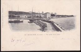 CPA - (83) Sainte Maxime - Vue Prise De La Jetée - Sainte-Maxime