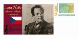 Spain 2013 - History Of Classical Music - Gustav Mahler Special Prepaid Cover - Musica
