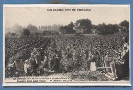 33 - FRONSAC --  Les Vendandes Au Chateau Du Pavillon - V. PONTY - DEZEIX , Propriétaire - Frankrijk