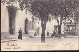 CPA - (83) Plan De La Tour - Place De L'église - Saint-Maximin-la-Sainte-Baume