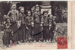 TONKIN - LAOKAY - Groupe De Femmes Nouns - Viêt-Nam