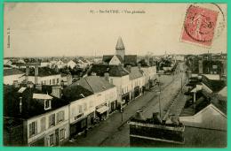 Sainte Savine  -  Aube - Vue Générale  -   Animée - Troyes