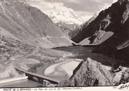 Thematiques 38 Isère Route De La Bérarde Le Plan Du Lac Et Les Fétoules Cp Dentelée Cliché Roby  Ecrite Timbrée 1964 - Vénosc
