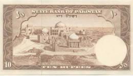 PAKISTAN P. 13 10 R 1956 UNC - Pakistan