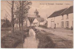 19961g ENTREE Du VILLAGE - EGLISE - Loupoigne - Genappe