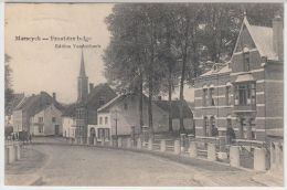 19964g FRONTIERE BELGE - PONT - Maeseyck - 1909 - Maaseik