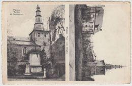 19982g THISNES - Eglise Et Monument - Hannuit