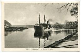T/ 29 - Quimper : Le Chemin De Halage - Quimper