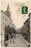 Aubenas, Faubourg Gambetta Après La Place De La Rotonde - Aubenas