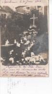 BOURBONNE-les-BAINS : (52)   CARTE PHOTO Bourbonne 31 Juin 1906 Reposoir De La Fête Dieu - Bourbonne Les Bains