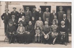 BOURBONNE-les-BAINS : (52)   CARTE PHOTO Bourbonne-les-Bains Le 22 Août 1927 Marquée Au Dos Avec Texte - Bourbonne Les Bains