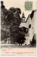 Laurac, L'église Et La Place .... - France