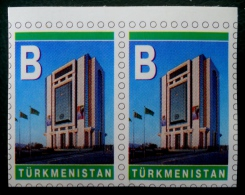 "MONUMENT ""B"" 2004 - NEUF ** - YT 189 - MI 184 - PAIRE AUTO-ADHESIVE - Turkménistan"