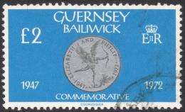 Guernsey, 2 £. 1980, Sc # 203, Mi # 203, Used - Guernsey