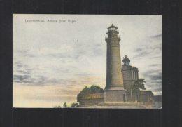 AK Leuchtturm Auf Arkona Insel Rügen 1908 - Lighthouses