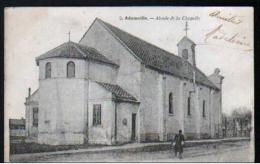 94 - ADAMVILLE - ABSIDE DE LA CHAPELLE - CARTE A DOS SIMPLE - France