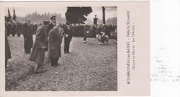 BOURBONNE-les-BAINS : (52)  Fête Du Souvenir. Devant La Mairie. Les Officiels (avec Menu Au Dos) - Bourbonne Les Bains