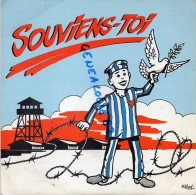 87 -ORADOUR SUR GLANE - RARE VINYLE 45 T- SOUVIENS TOI-M.J. CHOMBART DE LAUWE- DEPORTEE RAVENSBRUCK- KELDER BRIGUEUIL - Vinyl Records